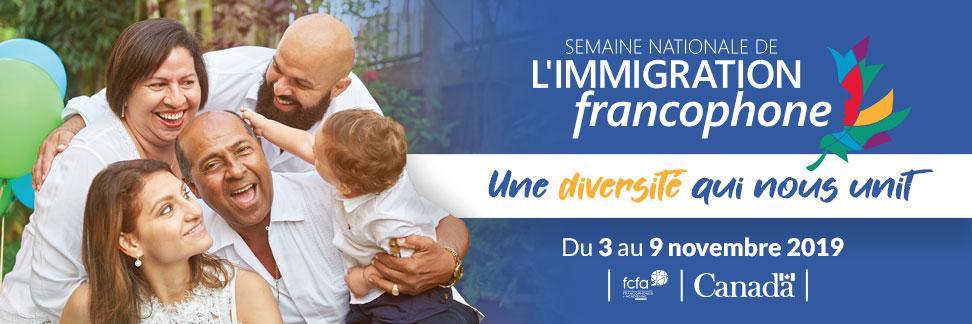 Semaine Nationale de l'Immigration Francophone